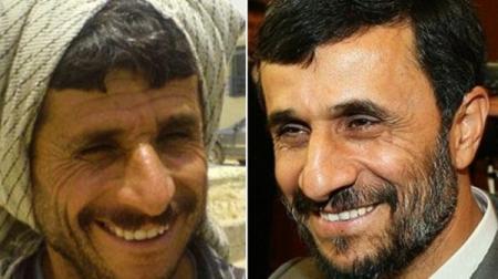 أحمدي نجاد وشبيهه