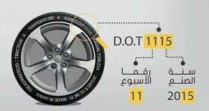 تفاصيل للتعرف على جودة أطار السيارات
