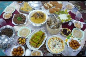 منيو كامل بإفطار وسحور ثاني 10 أيام في شهر رمضان المبارك
