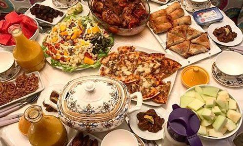 منيو مميز وجبات السحور والإفطار لآخر 10 أيام في شهر رمضان