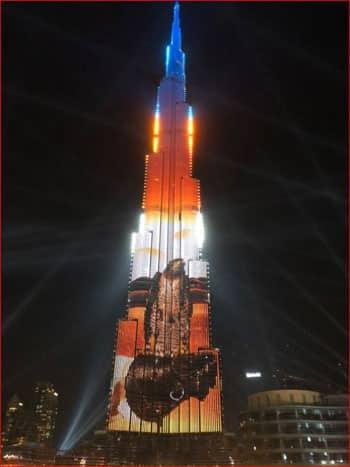 احتفالات دبي بالكريسماس