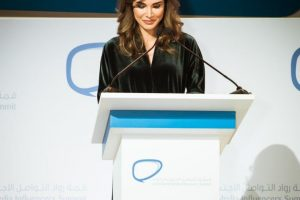 مشاركة الملكة رانيا في قمة رواد التواصل الاجتماعي العرب بالأمارات دبي