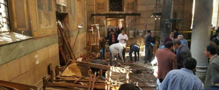 كشف شخصية الجناة في حادث تفجيري كنيسة مارمرقس بالإسكندرية و كنيسة ماري جرجس بطنطا