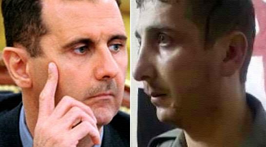 بشار الأسد وشبيهه