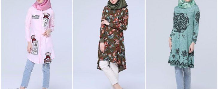 ملابس الجامعة : بالصور عدد من ملابس الجامعة البسيطة والعملية للمحجبات بألوان جذابة