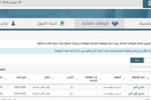 نتائج قبول وظائف قوات الأمن الخاصة 1440 لحملة الدبلوم والثانوية عبر أبشر للتوظيف