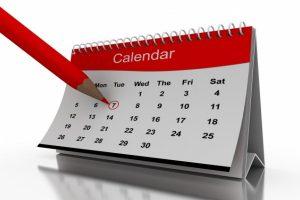 نتيجة وتقويم عام 2018 التقويم الميلادى والهجري والاجازات فى الامارات والسعودية ومصر