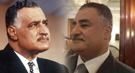 جمال عبدالناصر و شبيهه