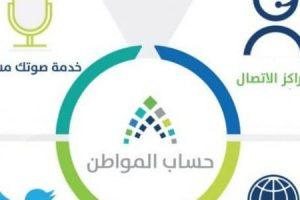 قنوات ومواعيد اتصال حساب المواطن السعودي المجانية الرسمية