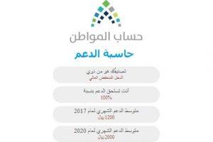 حاسبة حساب المواطن التقديرية 2018 والرابط الخاص بالبوابة الإلكترونية للتسجيل وتقديم الشكاوى الرسمية