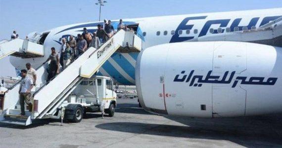 عاجل | خطف طائرة مصرية علي متنها 56 راكب وإجبارها علي الهبوط في قبرص