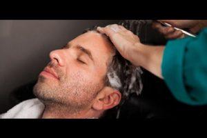 افضل الطرق الطبيعية لترطيب شعر الرجال