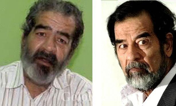 صدام حسين وشبيهه