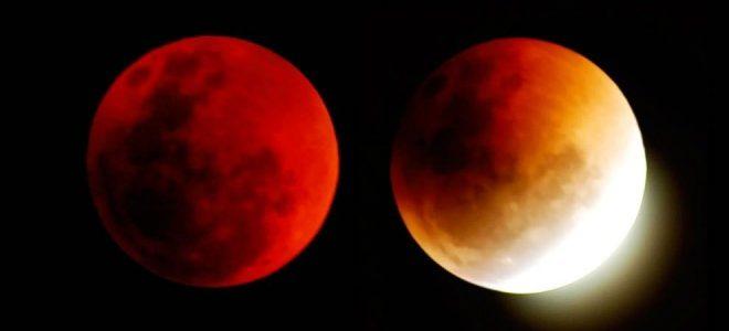 خسوف القمر سوف يستغرق 4 ساعات يوم الأربعاء المقبل