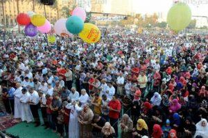 جدول تفصيلى لمواعيد صلاة عيد الفطر 2017 فى كافة محافظات مصر