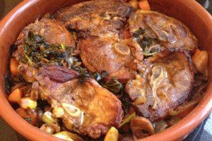 أكلات العيد: طريقة عمل طاجن اللحم الضاني بالخضار