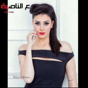 شاهد غادة عبد الرازق تشعل مواقع التواصل الاجتماعي بوشمها الجديد