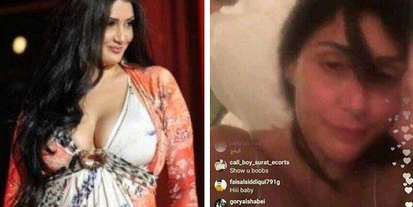 فيديو فاضح للفنانة غادة عبد الرازق على انستجرام يظهر مناطق حساسة بجسدها