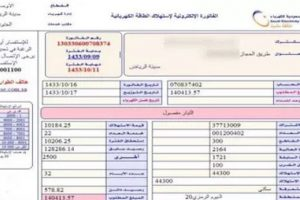 الاستعلام عن فاتورة الكهرباء الإلكترونية بالسعودية لشهر فبراير