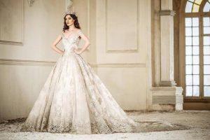 فساتين زفاف فخمة وجديدة – اجمل فساتين زفاف لمشاهير المصممين