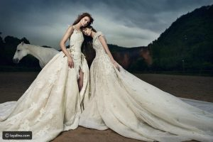 صور فساتين افراح – كيفية اختيار فستان الزفاف – واسس اختيار فستان الفرح