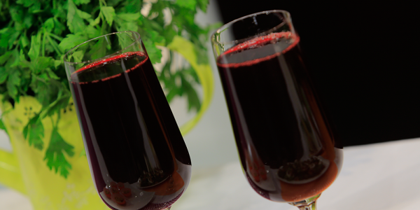 طريقة عمل عصير الكركديه بالرمان علي طريقة شيف أميرة شنب