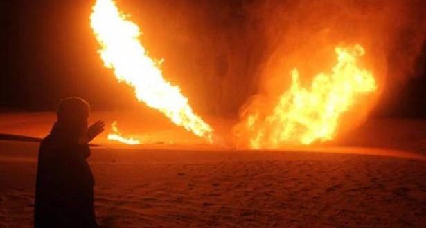 تفجير خط الغاز ببورسعيد