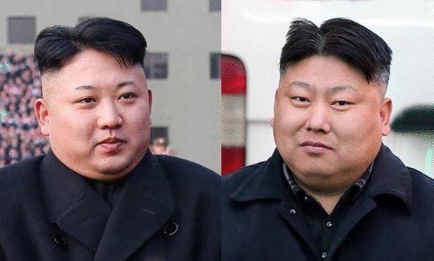 كيم جونغ أون وشبيهه