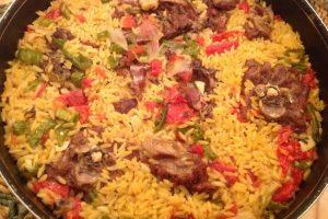أكلات عيد الاضحى وصفة لسان العصفور باللحم الضاني
