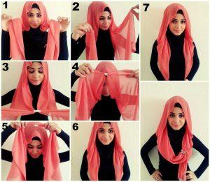 احدث واشيك لفات الحجاب بالصور