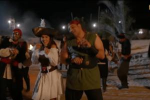 اغنية مخطوفين فوق جزيرة من مسلسل ريح المدام اداء مى عمر واكرم حسني واحمد فهمي