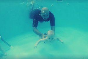 اقامة أول تدريب سباحة للرضع بالقاهرة فى اغسطس