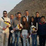 النجم الكتلوني ميسي يزور مصر للمرة الثانية وسط فرحة كبيرة لجميع المصريين