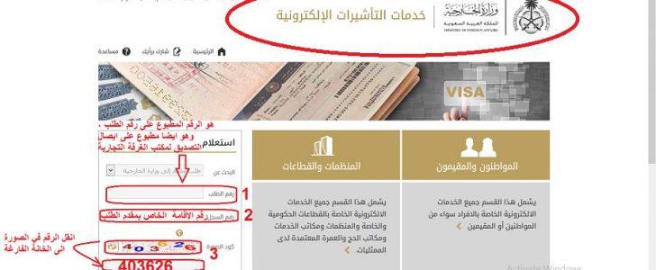 تعرف على رابط الاستعلام عن تأشيرة زيارة عائلية أو طلب زيارة أو حج مقدم من وزارة الداخلية