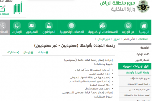 إجراءات تجديد رخصة القيادة في السعودية من خلال أبشر