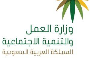 وزارة العمل والتنمية الاجتماعية تعلن موعد البدء في توطين 38 مهنة جديدة بالمملكة