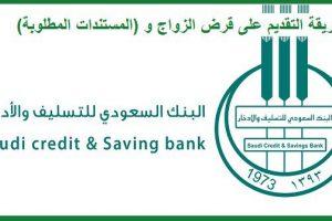 شروط بنك التسليف قرض الزواج والاستعلام عن اعفاء بنك التسليف