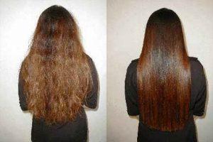 وصفات طرق فرد الشعر المجعد بطرق سهله ومواد طبيعية