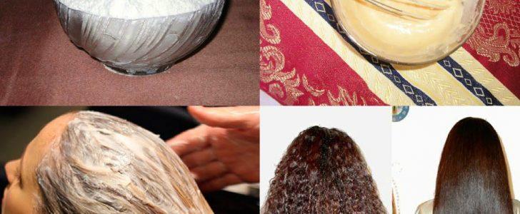 طريقة فرد الشعر بالنشا في 15 دقيقة فقط من أول أستعمال
