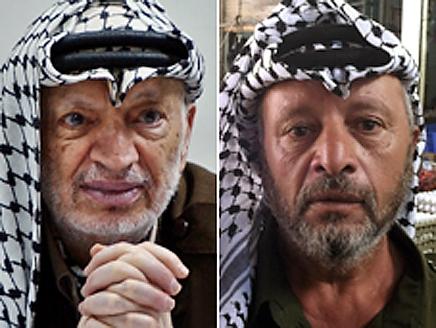 ياسر عرفات وشبيهه