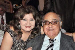 شاهد اخر صوره للفنان حسن مصطفى مع بناته وزوجته ميمى جمال قبل وفاتة
