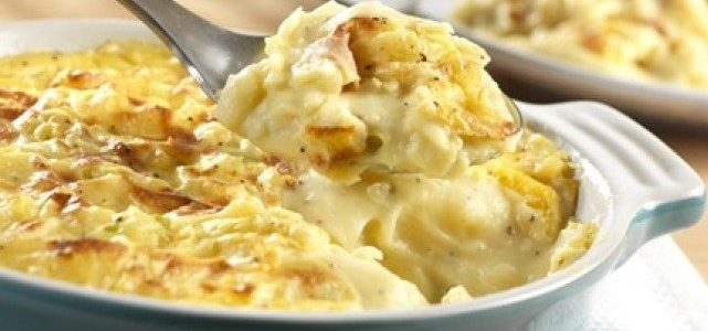 فوائد البطاطس وطريقة عمل صينية البطاطس بالبشاميل و الموزاريلا في الفرن سالى فؤاد