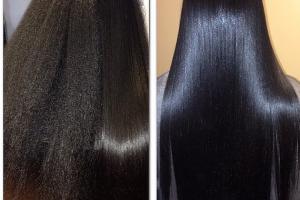 خطوات فرد الشعر بالكيراتين لنتائج مذهلة