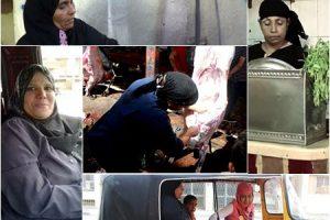 المرأة المصرية أثبتت جدارتها و قوتها فى مهن غير معتادة للنساء