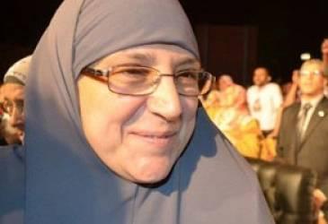 زوجة محمد مرسي رئيس جمهورية مصر العربية