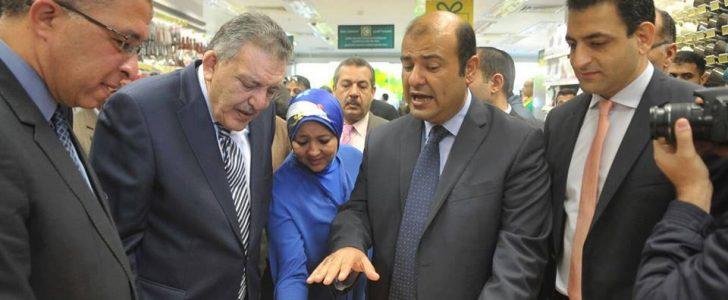 أفتتاح فرع سيبنيس Spinneys Egypt بالاسكندرية 2016