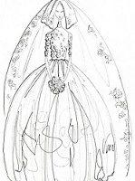 فساتين افراح زواج – فساتين بيضاء للدخلة 2014