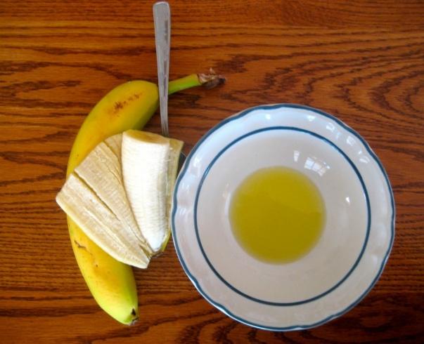 طريقة الموز للشعر