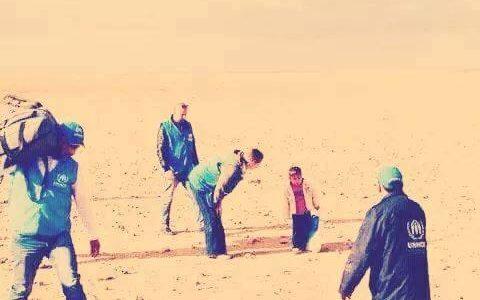 العثور على طفل سورى وحيداً فى الصحراء