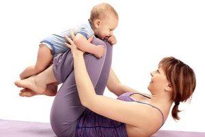 كيفية انقاص الوزن بعد الولادة و شد الجسم